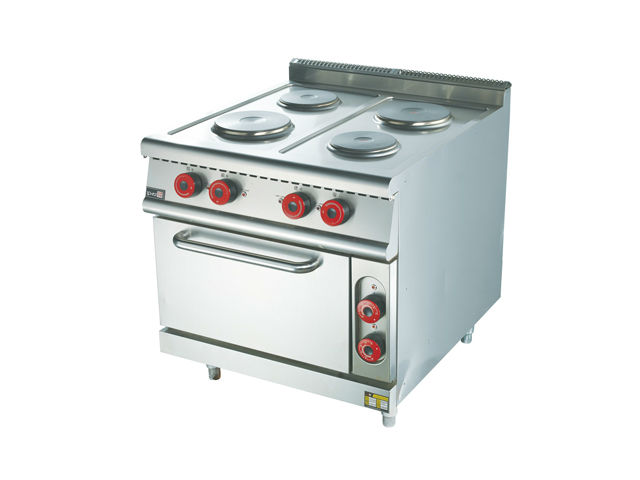 电四头煮食炉连电焗炉